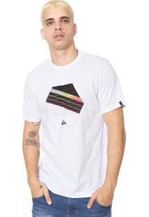 751b98a0d3503 Camiseta Branca Quiksilver masculina   Moda Sem Censura
