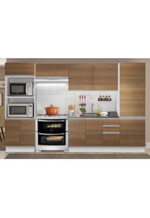 Cozinha Completa Madesa 100% Mdf Acordes 2 Gavetas 11 Portas (Sem Tampo E Pia)
