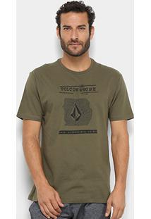 Camiseta Volcom Silk I D-02.11.1942 - Masculino