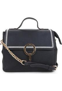 Bolsa Chenson Mini Bag Feminina - Feminino-Preto