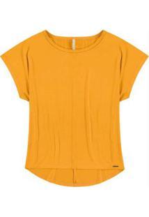 Blusa Malha Sense Amarelo