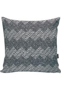 Capa Para Almofada Geometric- Cinza & Branca- 45X45Cstm Home