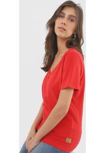 Camiseta Forum Lisa Vermelha