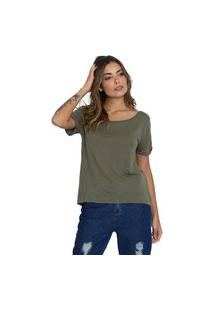 Camiseta Básica Le Julie Verde