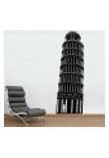 Adesivo De Parede Torre De Pisa - Pequeno