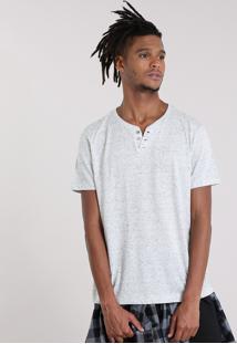 Camiseta Básica Botonê Off White