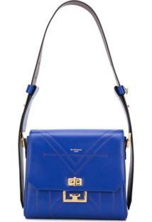 Givenchy Bolsa Tiracolo Eden Média - Azul