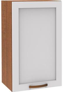 Aéreo Simples 1 Porta Vintage G2540 Branco/Rustic - Madesa