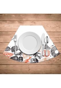Jogo Americano Para Mesa Redonda Wevans Menu Sushi
