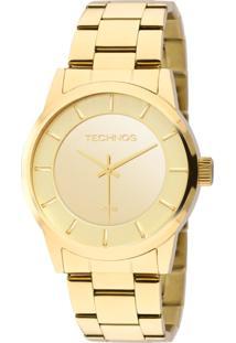 Relógio Technos Trend Analógico - 2035Lqa/4D Dourado