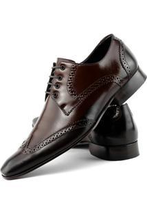 Sapato Social Bigioni Oxford Marrom