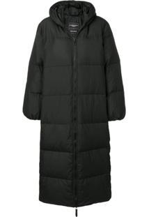 Duvetica Love Puffer Coat - Preto