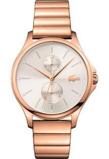774c414d7 R$ 890,00. Vivara Relógio Feminino Aço Lacoste - Rosé 2001027