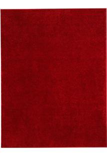 Tapete Classic- Vermelho- 200X200Cm- Oasisoasis