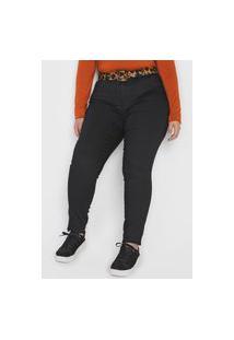 Calça Jeans Grifle Company Skinny Lisa Preta