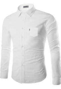 Camisa Social Amil - Branca-P