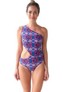 Body Luv Swimwear Lozango Boho Roxo