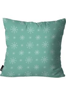 Capa Para Almofada Mdecore Winter Verde 35X35