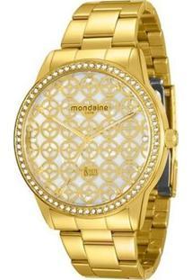 Relógio Mondaine By Ivete Sangalo - 76363Lpmvde2 - Feminino-Dourado