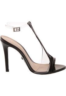 Sandália Transparente High Heel | Schutz