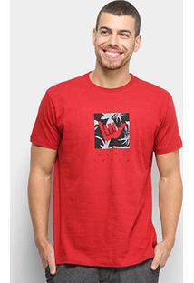 Camiseta Hang Loose Silk Logoleaves Masculina - Masculino