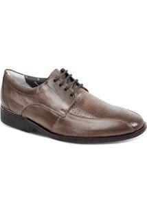 Sapato Social Masculino Derby Sandro Moscoloni Strand Marrom