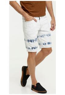 Bermuda Jeans Tie Dye Masculina Mr