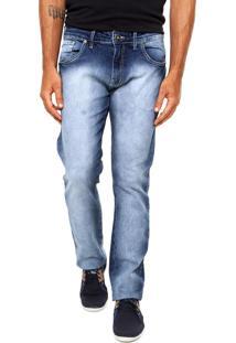 Calça Jeans Forum Slim Azul