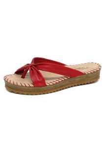 Sandália Bottero Tropical Vermelho