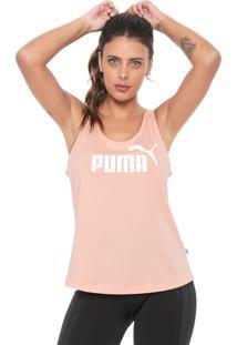 Regata Puma Essentials Tank Rosa
