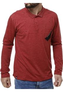 Camisa Polo Manga Longa Masculina No Stress - Masculino