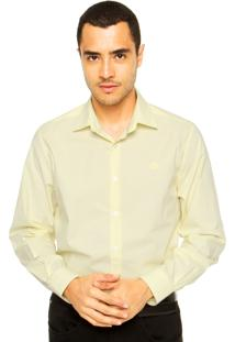 Camisa Forum Bordado Amarela