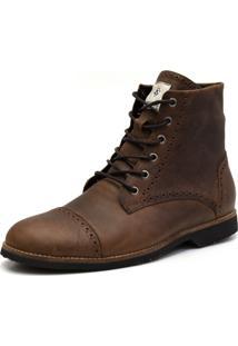 Bota Shoes Grand London Tabaco Marrom