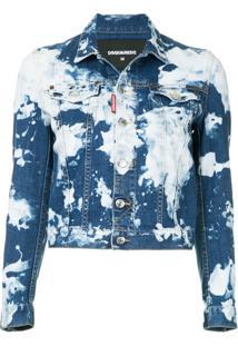 Dsquared2 Jaqueta Jeans - Azul