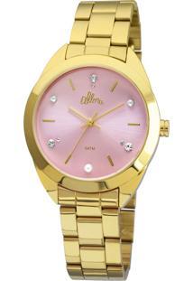 Relógio Feminino Strass Allora Al2035Fbxk4T