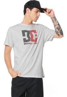 Camiseta Dc Shoes Cristal Branca