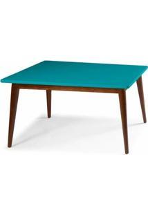 Mesa Jantar Novita 2.20 - Azul - Tommy Design