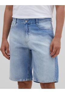 Bermuda Slim Em Jeans