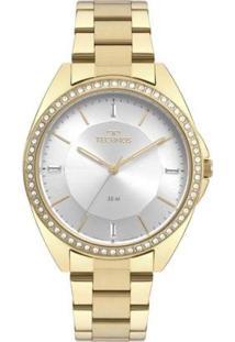 Relógio Technos Fashion Trend Feminino - Feminino-Dourado