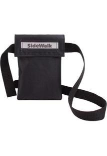 Bolsa Shoulder Sidewalk Transversal Mini - Unissex-Preto