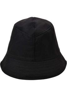 Chapéu Bucket Hat Liso Azul Preto