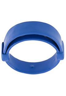 Jil Sander Anel De Prata - Azul
