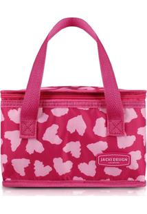 Bolsa Térmica Jacki Design Bem-Estar Rosa - Tricae