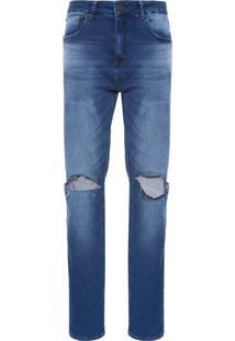 Calça Masculina Slim Varadeiro - Azul