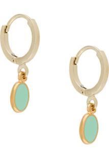 Isabel Marant Pendant Hoop Earrings - Verde