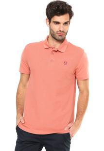 Camisa Polo Mr Kitsch Textura Coral
