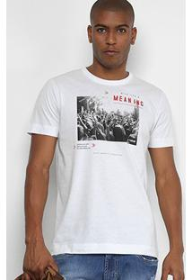 Camiseta Forum Give Life A Meaning Masculina - Masculino-Branco