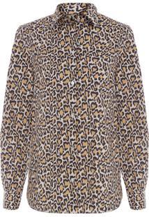 Camisa Feminina Onça - Animal Print