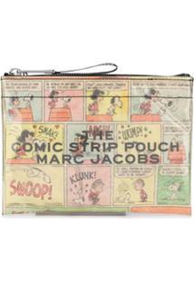 Marc Jacobs Clutch Peanuts Comic Com Estampa - Amarelo
