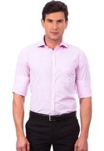 Camisa Social Colombo Xadrez Masculino - Masculino